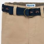 Подплатен панталон / regular fit / с колан